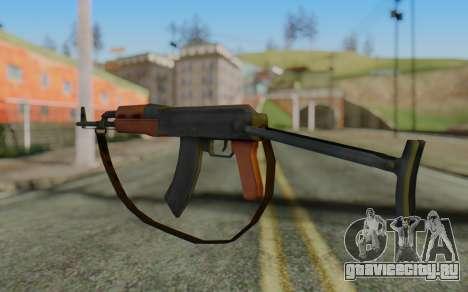 AK-47S with Strap для GTA San Andreas второй скриншот
