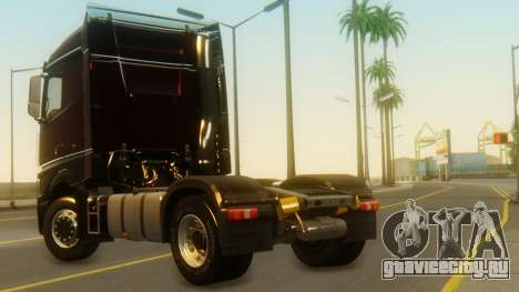 Mercedes-Benz Actros MP4 Stream Space Black для GTA San Andreas вид слева