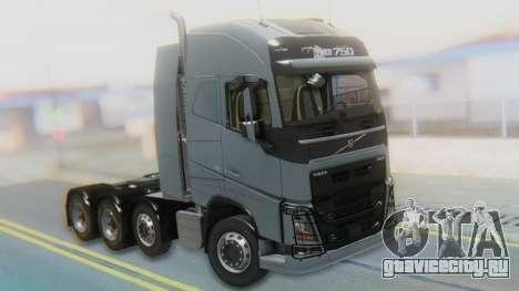Volvo FH Euro 6 Heavy 8x4 для GTA San Andreas