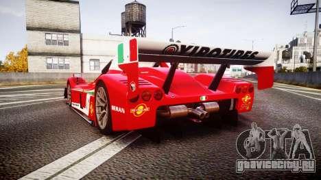 Radical SR8 RX 2011 [6] для GTA 4 вид сзади слева