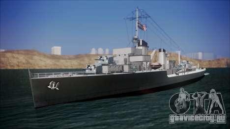 Type 34 Destroyer для GTA San Andreas