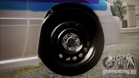 Chevrolet Impala FBI Slicktop для GTA San Andreas вид сзади слева