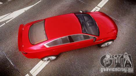 GTA V Ocelot Jackal liberty city plates для GTA 4 вид справа