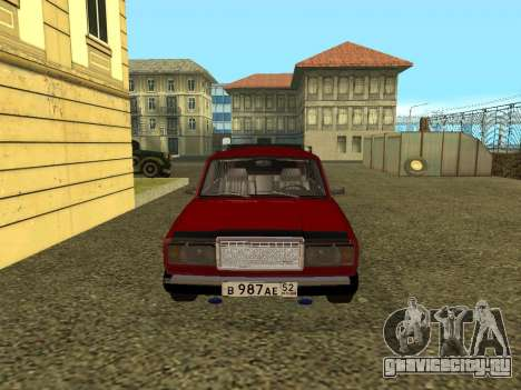 ВАЗ 21047 для GTA San Andreas вид слева