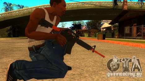 M4A1 Nitro для GTA San Andreas