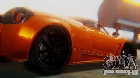 GTA 5 Pegassi Osiris SA Style для GTA San Andreas вид справа