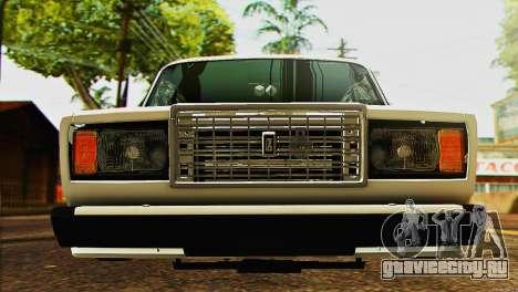 ВАЗ 2107 E-Design для GTA San Andreas вид справа
