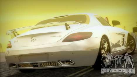 Mercedes-Benz SLS AMG 2013 для GTA San Andreas вид сбоку