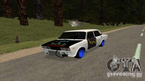 ВАЗ 2105 БК v1.0 для GTA San Andreas