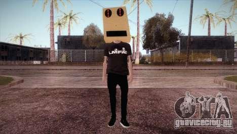 LMFAO Robot для GTA San Andreas второй скриншот