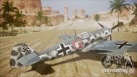 Messerschmitt BF-109 E-4 IJAAF для GTA San Andreas вид слева