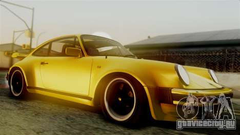Porsche 911 Turbo (930) 1985 Kit C PJ для GTA San Andreas вид сзади слева