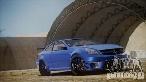 Benefactor Schwartzer Gray Series для GTA San Andreas вид справа