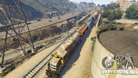 Railroad Engineer 3 для GTA 5 седьмой скриншот