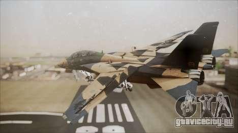 F-14D AC6 Halloween для GTA San Andreas вид слева