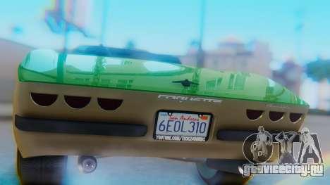 Invetero Coquette BlackFin v2 GTA 5 Plate для GTA San Andreas вид изнутри