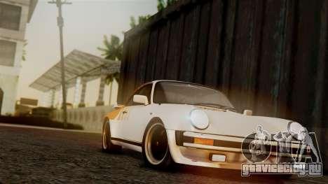Porsche 911 Turbo (930) 1985 Kit C PJ для GTA San Andreas двигатель