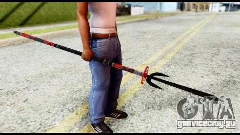 Yukimura Spear для GTA San Andreas второй скриншот