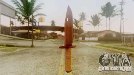 Combat Knife для GTA San Andreas второй скриншот