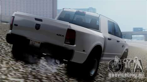 Dodge Ram 3500 2010 для GTA San Andreas вид слева