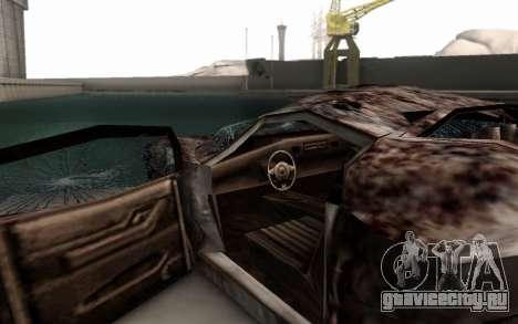 Bullshit для GTA San Andreas вид справа