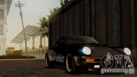 Porsche 911 Turbo (930) 1985 Kit C PJ для GTA San Andreas салон
