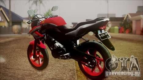 Honda CB150R Streetfire для GTA San Andreas вид слева