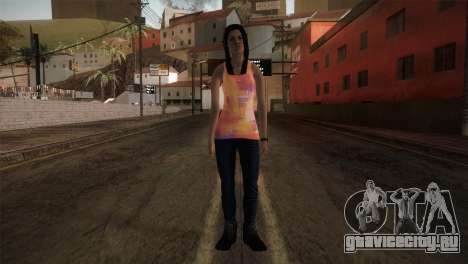 Alara Model Girl для GTA San Andreas второй скриншот