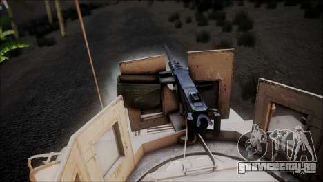 HMMWV Croatian Army ISAF Contigent для GTA San Andreas вид справа