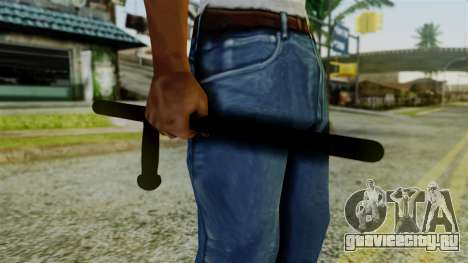 Police Baton from Silent Hill Downpour v2 для GTA San Andreas третий скриншот
