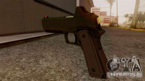 Heavy Pistol GTA 5 для GTA San Andreas второй скриншот