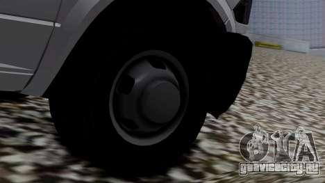 Dodge Ram 3500 2010 для GTA San Andreas вид сзади слева