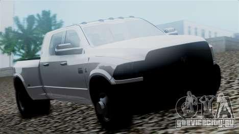 Dodge Ram 3500 2010 для GTA San Andreas