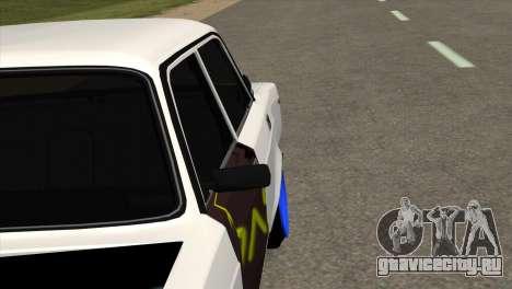 ВАЗ 2105 БК v1.0 для GTA San Andreas вид сзади
