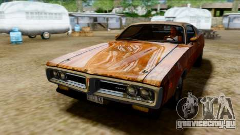 Dodge Charger Super Bee 426 Hemi (WS23) 1971 PJ для GTA San Andreas вид сбоку