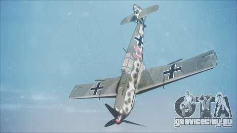 Messerschmitt BF-109 E-4 IJAAF для GTA San Andreas