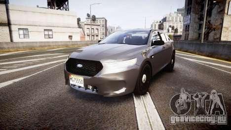 Ford Taurus 2010 Unmarked Police [ELS] для GTA 4