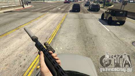 Stand On Moving Cars для GTA 5