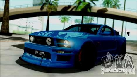 Ford Mustang GT Modification для GTA San Andreas