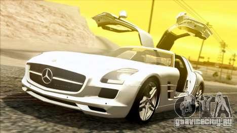 Mercedes-Benz SLS AMG 2013 для GTA San Andreas вид слева