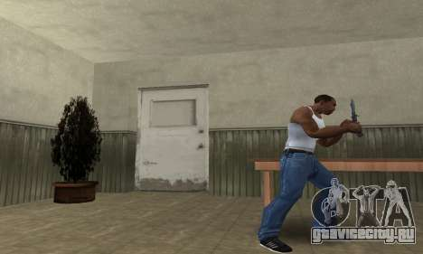 Butterfly Knife для GTA San Andreas второй скриншот