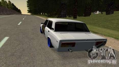 ВАЗ 2105 БК v1.0 для GTA San Andreas вид слева