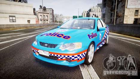 Ford Falcon BA XR8 Police [ELS] для GTA 4
