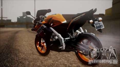 Honda CBR150R Repsol CBU для GTA San Andreas вид слева