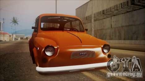 Fiat 600 для GTA San Andreas вид справа