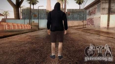 Наёмник мафии в капюшоне и в маске для GTA San Andreas третий скриншот
