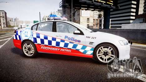 Holden Commodore SS Highway Patrol [ELS] для GTA 4 вид слева