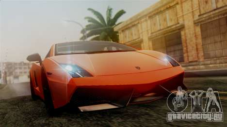 Lamborghini Gallardo Superleggera 2011 для GTA San Andreas