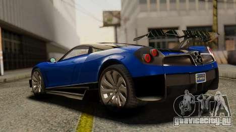 Pegassi Osyra Extra 1 для GTA San Andreas вид слева