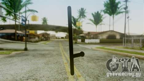 Police Baton from Silent Hill Downpour v2 для GTA San Andreas второй скриншот